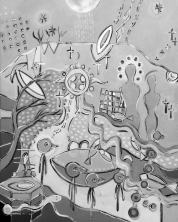 SLIEVE MUCK STUDY - THE ARTIST AS SHAMAN